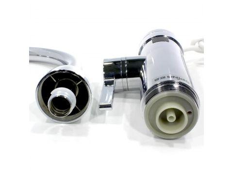 Кран-водонагреватель Oping OP-L11 Silver с дисплеем мощность 3000 Вт (3679-11614)