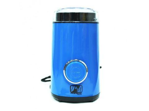 Кофемолка измельчитель Promotec PM 596 50 г 200 Вт Синяя (300040)