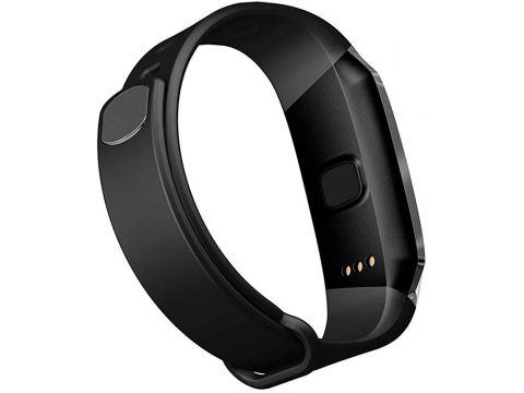 Умный фитнес-браслет Lemfo E18 с функцией измерения давления Черный (ftleme18bl)