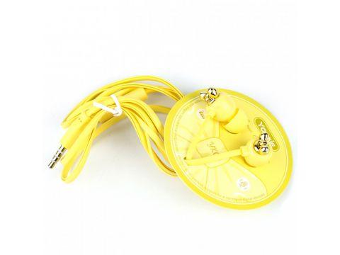 Наушники Yookie YK04 (Желтый) 880127