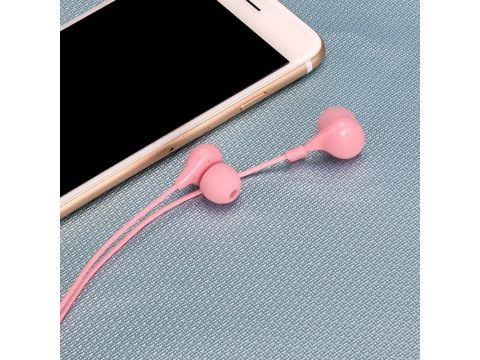 Наушники Usams EP-9 с микрофоном (Розовый) 871704
