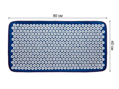 Акупунктурный массажный коврик Универсал 40 х 80 см Синий (448/2)