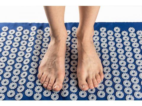 Набор коврик и полувалик Универсал 40 х 64 см Синий (230 +37)