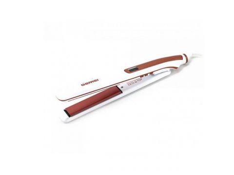 Выпрямитель для волос Gemei Gm-430 Бело-коричневый (247958)