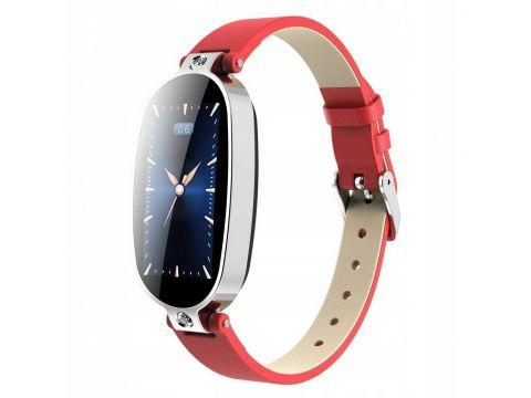 Умные часы Finow B79 с тонометром и ЭКГ Красный (ftfinb79red)