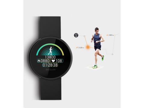 Умные часы фитнес-браслет женский Lemfo B36 Черный (ftlemb36bl)