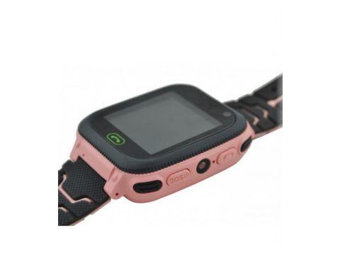 Детские умные часы Smart F3 с GPS с фонариком Pink (300657PI)