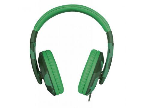 Наушники Trust Sonin Kids Over-Ear Jungle Camo (22203)