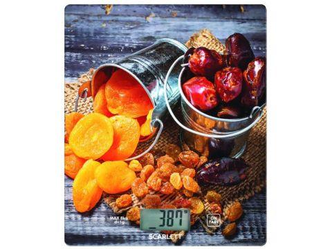 Весы кухонные Scarlett SC-KS57P33 Оранжевый (500100)