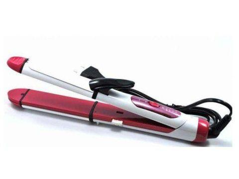 Стайлер ProGemei Gm 2966 3 В 1 Бело-розовый (351492)