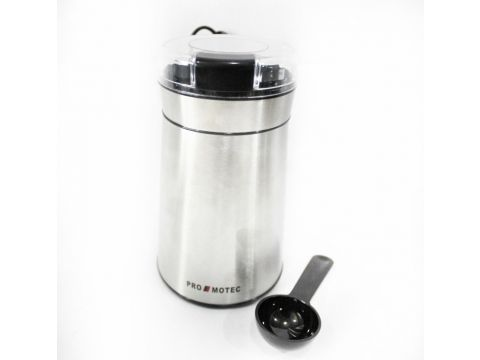 Кофемолка Promotec PM599 280W Стальная (300809)