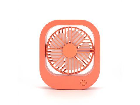 Портативный переносной вентилятор DianDi SQ-2167 Orange (LS1010053966)
