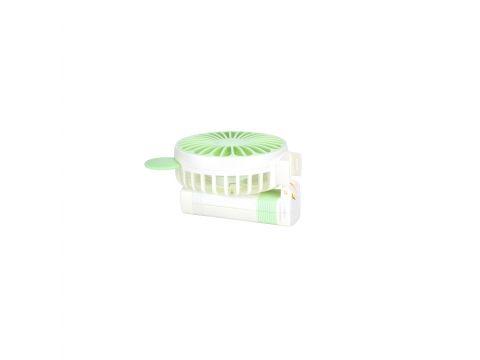 Портативный ручной вентилятор DianDi SQ-2167 на аккумуляторе White-Green (LS1010053967)