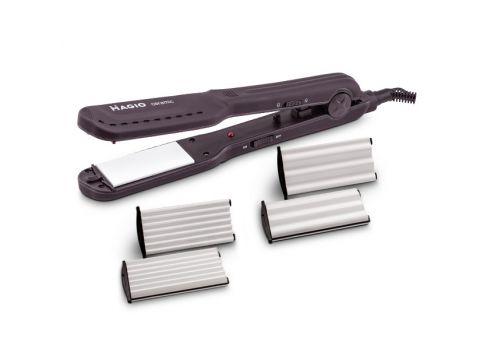 Выпрямитель и гофре для волос MAGIO МG-722, 3 керамические насадки