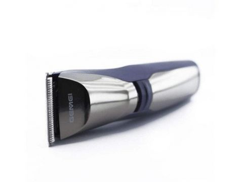 Машинка для стрижки волос аккумуляторная GEMEI GM829 Черный с серебристым (300891)