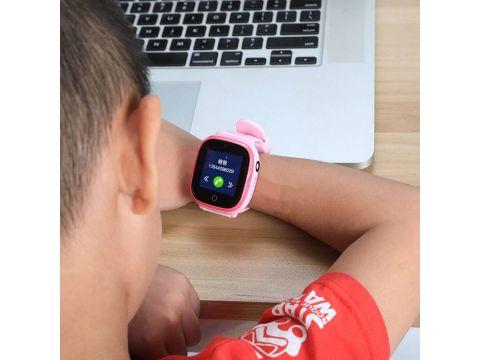 Детские смарт-часы Wonlex GW400X с Gps трекером Розовый (swwongw400xpink)