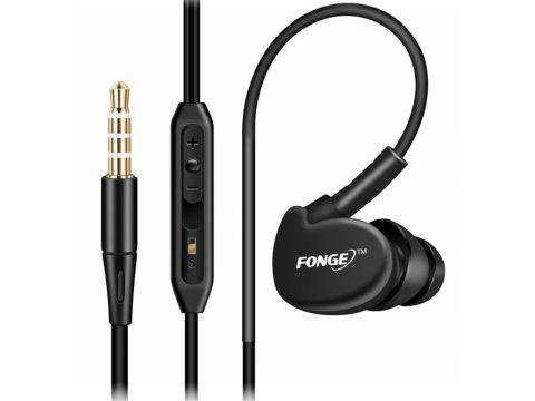 Наушники с микрофоном FONGE S500 Black (1800-6034a)