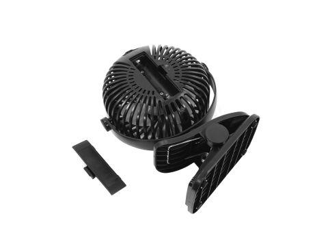Переносной мини вентилятор на прищепке Lesko JD-199 Black (4687-14478)