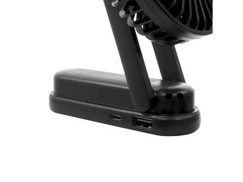 Ручной мини-вентилятор Lesko F1 Black (4691-14471a)