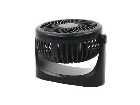 Мини вентилятор настольный Lesko JD-Q1 Black (4690-14483a)