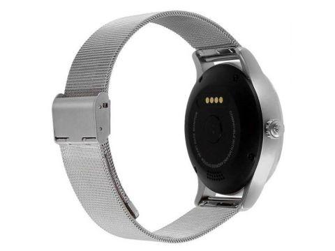 Умные часы Lemfo K88H с пульсометром Серебристый