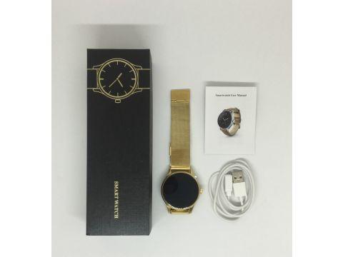 Умные часы Lemfo K88H с пульсометром Золотой