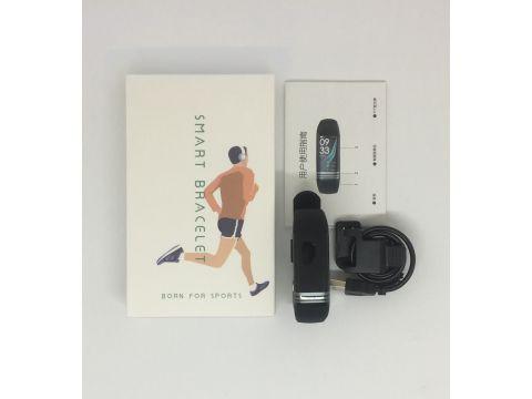 Умный фитнес браслет Lemfo G26S с измерением давления и сатурации крови Черный