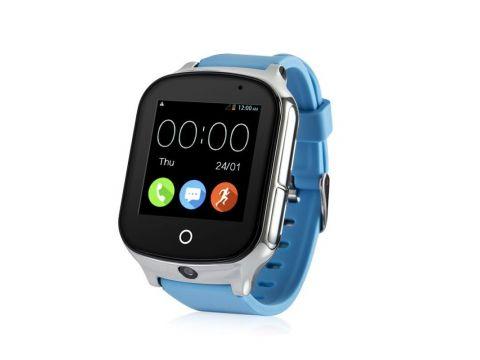 Детские смарт-часы Wonlex GW1000S с поддержкой 3G сети Голубой