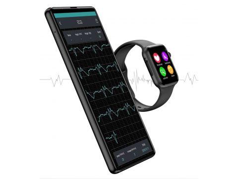 Умные смарт часы IWO 10 Lite с сенсорным экраном Черный
