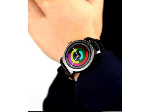 Умные часы Lemfo K88h Plus с сенсорным дисплеем Черный
