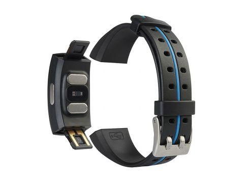 Умный фитнес браслет Blaze Fit P3 Plus с измерением ЭКГ и тонометром Синий