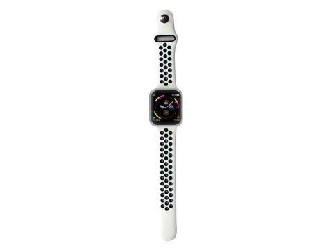 Умные смарт часы Lemfo F8 с тонометром Серебристый