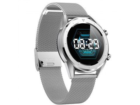 Умные часы No.1 DT28 с ЭКГ и пульсоксиметром Серебристый