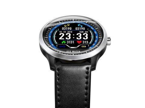 Умные часы Lemfo N58 с измерением давления и ЭКГ Черный