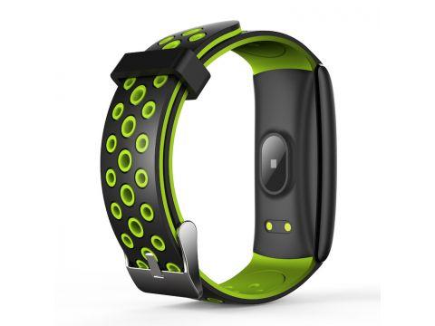 Умный фитнес браслет Lemfo Q8S со встроенным тонометром Зеленый