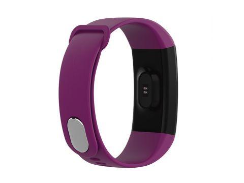 Умный фитнес браслет Lemfo F07 с тонометром c пульсоксиметром Фиолетовый