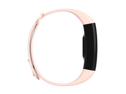 Умный фитнес браслет Lemfo F07 с тонометром c пульсоксиметром Розовый