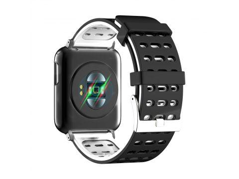 Умные часы Lemfo V5 с измерением давления и пульсоксиметром Черно-серый