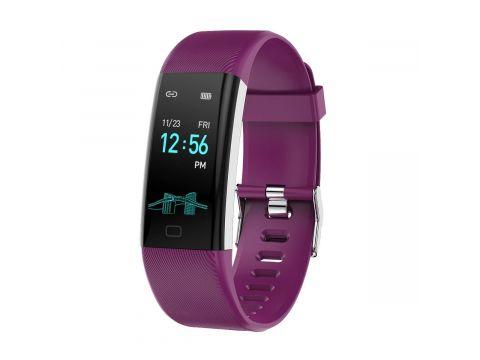 Фитнес браслет Lemfo F07 Max с измерением давления Фиолетовый