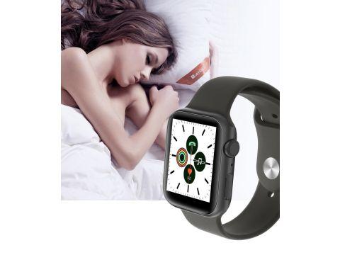 Умные часы IWO 11 с беспроводной зарядкой Черный