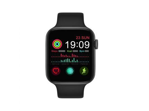 Смарт часы IWO FT50 с тонометром и термометром Черный (swiwoft50bl)