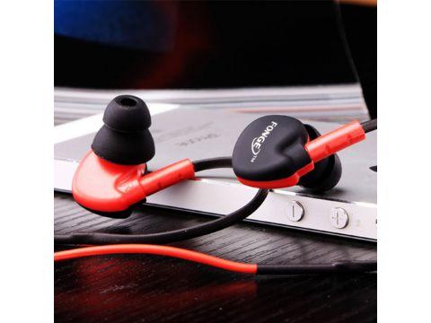 Наушники с микрофоном FONGE S500 Red (1800-5852a)