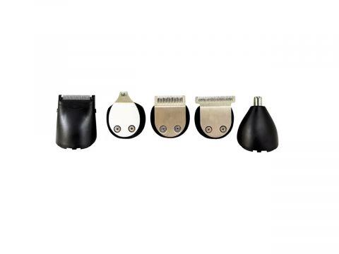 Аккумуляторный Триммер для Стрижки Волос Тела, Бороды, Носа, Ушей, Головы Gemei GM 592 10в1 (10300)