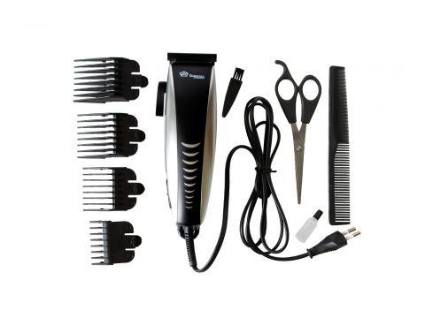 Машинка для стрижки волос Domotec MS 4604 Черно-серый (10896)