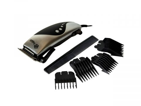 Машинка для стрижки волос Domotec MS 4609 Черно-серый (10897)