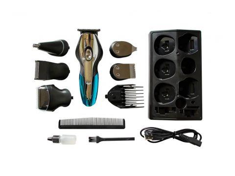 Аккумуляторны Триммер для Стрижки Волос Тела, Бороды, Носа, Ушей, Головы Gemei GM562 11в1 (10470)