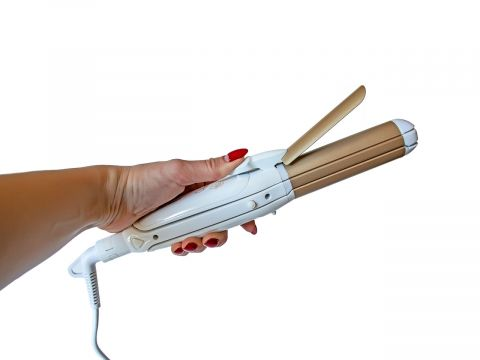 Мультистайлер для укладки волос Mozer 7023 60W Белый (10089)