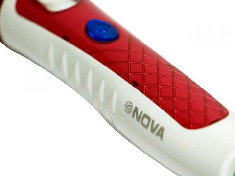 Спиральная Плойка для волос Nova NHC 8558 35W Красный (10277)