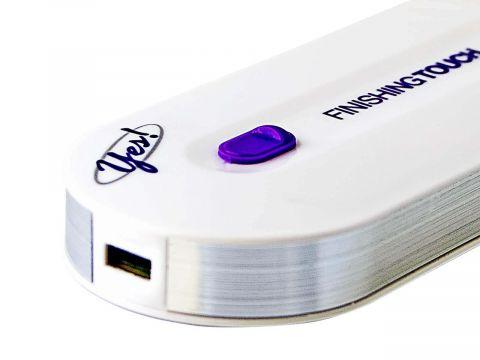Женский Аккумуляторный Триммер для волос на теле, зоны бикини Touch Yes 2в1 (10452)