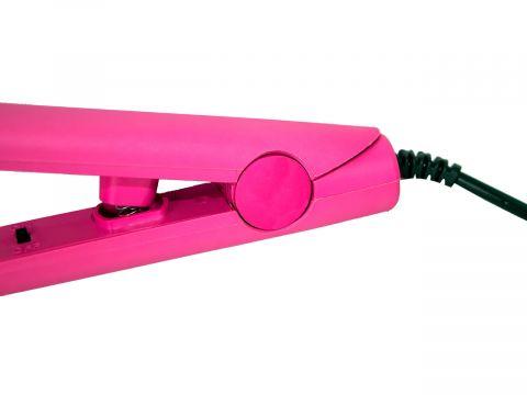 Мини Утюжок-выпрямитель для волос Gemei 1990 Розовый  (10565)